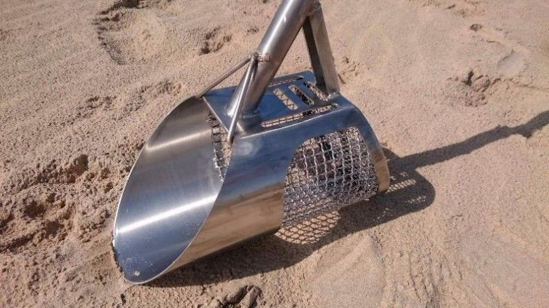 Beach Scoop For Metal Detecting