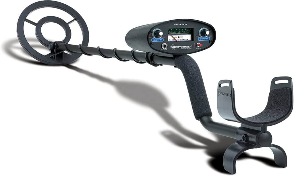 image of bounty hunter TK 4 IV beginners metal detector