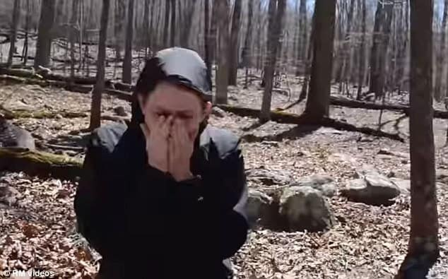 Lisa In Shock Metal Detecting Proposal
